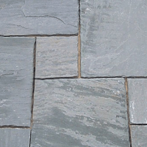 Natural stone paving: natural grey 10.2mtr2 natural stone paving pack