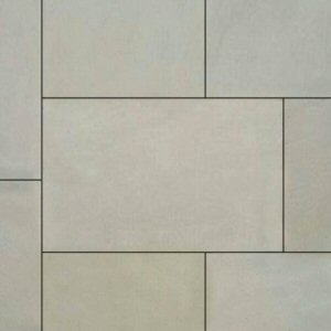 Natural stone paving: ivory mint sawn 9.90mtr2 natural stone paving kit