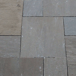 Natural stone paving: mid brown 10.2mtr2 natural stone paving pack