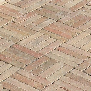 60mm pavers: inish aged paving rumbled rustic