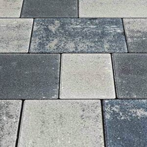 Smooth ash blend 8mtr2 tumbled cobble paver | Darlaston