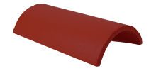 Ridge Tile Half Round Brown
