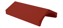 Ridge Tile Universal Angle Brown
