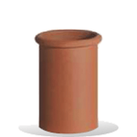 Roll Top Chimney Pot 450mm
