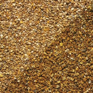 Special offer decorative garden aggregates: york gold gravel 10mm 25kg x3 bags
