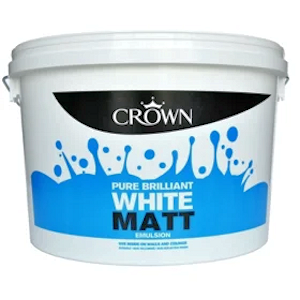 White Matt Emulsion 10ltr Trade