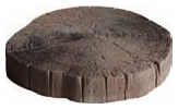 Stepping stones: driftwood log stepping stone 360mm
