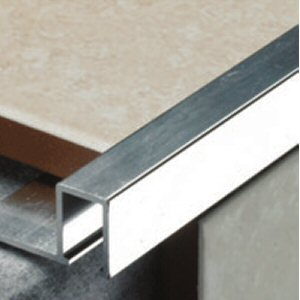 Flat Metal Tile Trim 10mm