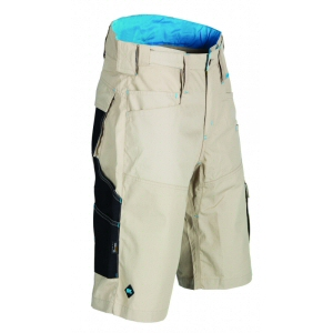 Work wear: beige ripstop shorts