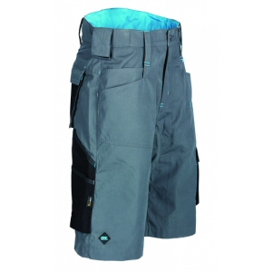 Work wear: graphite ripstop shorts