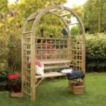 Garden arches and seats