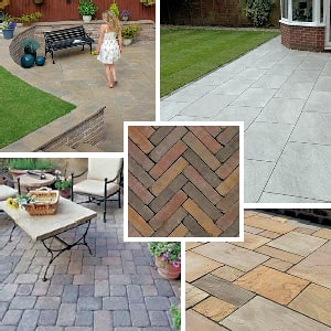 Paving products and materials