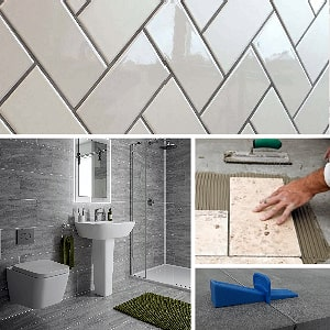 Porcelain tiles, ceramic tiles and tiling accessories