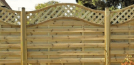Feature fence panels
