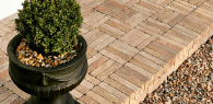 Inish paving and edging