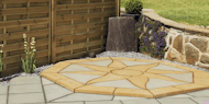 Lakeland Octagon Sun Feature Paving